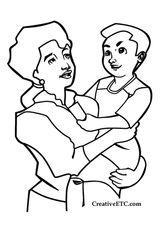 Imprimer le coloriage : Fête des mères, numéro 114341