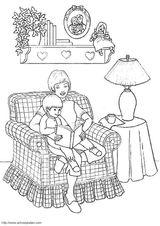 Imprimer le coloriage : Fête des mères, numéro 114343