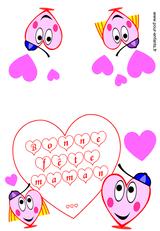 Imprimer le dessin en couleurs : Fête des mères, numéro 120985