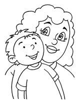 Imprimer le dessin en couleurs : Fête des mères, numéro 120986