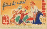 Imprimer le dessin en couleurs : Fête des mères, numéro 121008