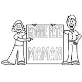 Imprimer le coloriage : Fête des mères, numéro 124830