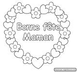 Imprimer le coloriage : Fête des mères, numéro 124839
