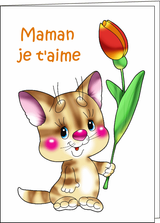 Imprimer le dessin en couleurs : Fête des mères, numéro 162528