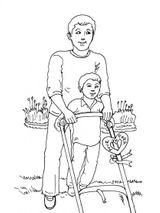 Imprimer le coloriage : Fête des pères, numéro 114333