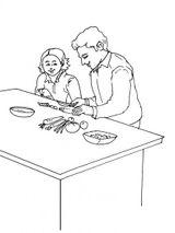 Imprimer le coloriage : Fête des pères, numéro 114334