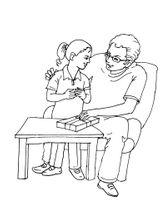 Imprimer le coloriage : Fête des pères, numéro 114336