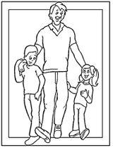 Imprimer le coloriage : Fête des pères, numéro 124817