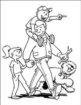 Imprimer le coloriage : Fête des pères, numéro 124820