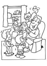 Imprimer le coloriage : Fête des pères, numéro 163740