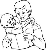 Imprimer le coloriage : Fête des pères, numéro 173975