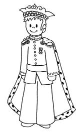 Imprimer le coloriage : Galette des Rois, numéro 113453