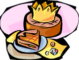 Imprimer le dessin en couleurs : Galette des Rois, numéro 117241