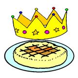 Imprimer le dessin en couleurs : Galette des Rois, numéro 117246