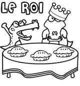 Imprimer le coloriage : Galette des Rois, numéro 16750