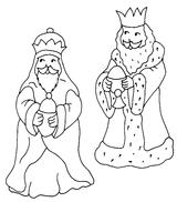 Imprimer le coloriage : Galette des Rois, numéro 21728