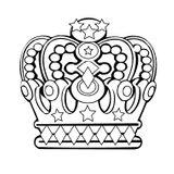 Imprimer le coloriage : Galette des Rois, numéro 4197