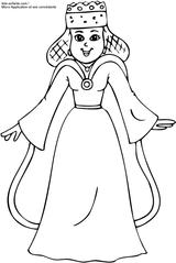 Imprimer le coloriage : Galette des Rois, numéro 4200