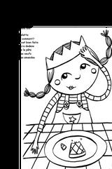 Imprimer le coloriage : Galette des Rois, numéro 4206