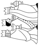 Imprimer le coloriage : Galette des Rois, numéro 58594