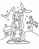 Imprimer le coloriage : Halloween, numéro 12050881