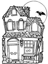 Imprimer le coloriage : Halloween, numéro 131249