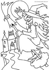 Imprimer le coloriage : Halloween, numéro 131260