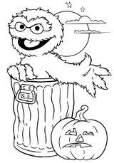 Imprimer le coloriage : Halloween, numéro 131272