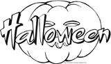 Imprimer le coloriage : Halloween, numéro 131276