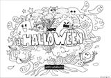 Imprimer le coloriage : Halloween, numéro 13594874