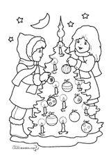 Imprimer le coloriage : Noël, numéro 113227