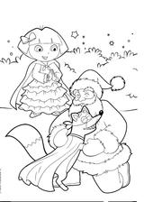Imprimer le coloriage : Noël, numéro 127674