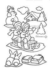 Imprimer le coloriage : Noël, numéro 127677