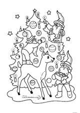 Imprimer le coloriage : Noël, numéro 127682