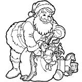 Imprimer le coloriage : Noël, numéro 47
