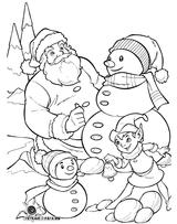 Imprimer le coloriage : Noël, numéro 5733