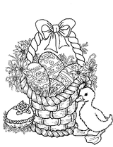 Imprimer le coloriage : Pâques, numéro 128353