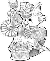 Imprimer le coloriage : Pâques, numéro 145834