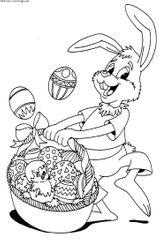 Imprimer le coloriage : Pâques, numéro 145844