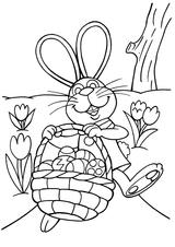 Imprimer le coloriage : Pâques, numéro 145849