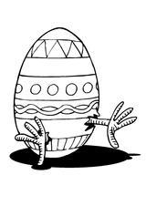 Imprimer le coloriage : Pâques, numéro 145852