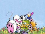 Imprimer le dessin en couleurs : Pâques, numéro 19105
