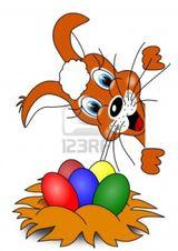 Imprimer le dessin en couleurs : Pâques, numéro 69877