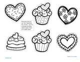 Imprimer le coloriage : Saint-Valentin, numéro 110f0539