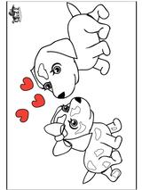 Imprimer le dessin en couleurs : Saint-Valentin, numéro 117285
