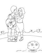 Imprimer le coloriage : Saint-Valentin, numéro 128304