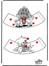 Imprimer le dessin en couleurs : Saint-Valentin, numéro 136743