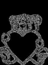Imprimer le coloriage : Saint-Valentin, numéro 145828