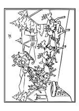 Imprimer le coloriage : Toussaint, numéro 163732