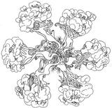 Imprimer le coloriage : Arbres, numéro 1140